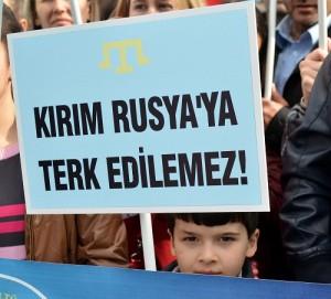 "Başkent'te ""Kırım"" protestosu"