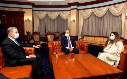 Çavuşoğlu ve Akar Ukrayna'da